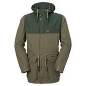 Mens Bukoba F65 Texapore Parka (Burnt Olive)