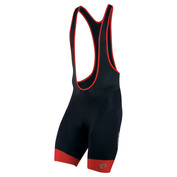 Mens Elite InRCool Bib Shorts (Black/True Red)