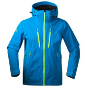 Mens Trolltind Jacket (Light Sea Blue/Neon Green)