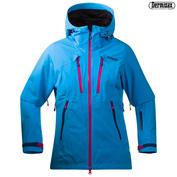 Womens Trolltind Jacket (Bright Sea Blue\/Hot Pink)