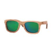 Caviuno Sunglasses (Green Mirror Lens)