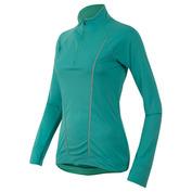 Womens Pursuit Long Sleeve Top (Viridian Green/Aqua Mint)