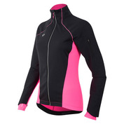 Womens Pursuit Softshell Jacket (Black/Screaming Pink)