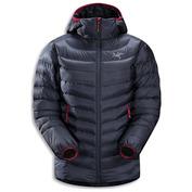 Womens Cerium LT Hooded Jacket (Nighthawk)