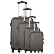 Eyes Set of 4 Suitcases (Grey)