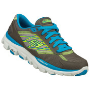 Womens Go Run Ride 2 Shoes (Grey/Turquuoise)