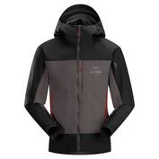Mens Alpha Comp Hooded Jacket (Iron Anvil)