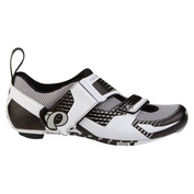 Mens Tri Fly IV Carbon Shoes (White/Silver)