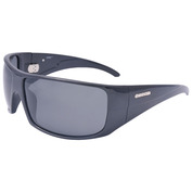 Brasilman Sunglasses (Shiny Black - Smoke Lens)
