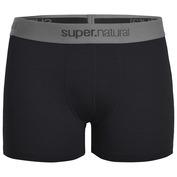 Mens Base Merino 175 Boxer Shorts (Caviar)