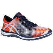 Mens Gel Super J33 Shoes (Navy/Orange)