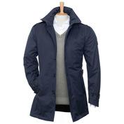 Mens Adge 2-Layer Winter Short Coat (Blue Jeans)