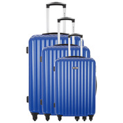 Derry Set of 3 Suitcases (Blue)