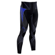 Mens Revolution Tights (Black/Blue)