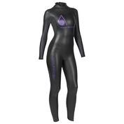 Womens Pursuit Wetsuit (Black\/Purple)
