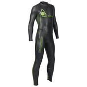 Mens Phantom Wetsuit (Black\/Green)