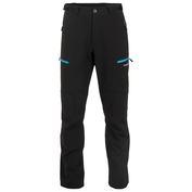 Mens Inca Light Softshell Trousers (Black/Blue)