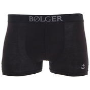 Mens Anchor Bamboo Boxers (Black)