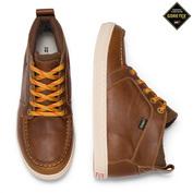 Mens Akta Leather GTX Shoes (British Tan)