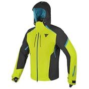 Mens Grual D-Dry Jacket (Lime/Black/Blue Ocean)