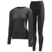 Womens Dry 2 Pack (Black)