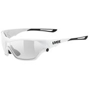 Uvex Sportstyle 705 Vario Sunglasses (White/Smoke Lens)