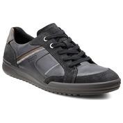 Mens Fraser Shoes (Black/Black/Warm Grey)
