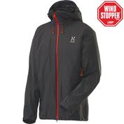 Mens Roca II Hooded Jacket (Magnetite)
