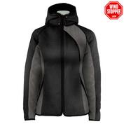 Womens Val Gardenna Knitshell Jacket (Black)