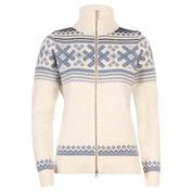 Womens Haukeli Jacket (Off-White/Blue)