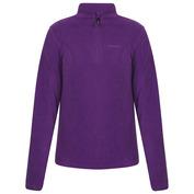 Womens Karine 1/4 Zip Fleece Top (Purple)