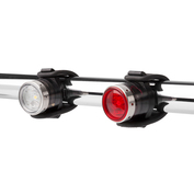 B2R Front & B2R Rear Rechargeable Bike Lights combo pack (Black)