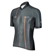 Mens Race Vezuvio Short Sleeve Jersey (Carbon)