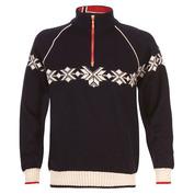Mens Sochi Knitted Sweater (Navy/Off White/Raspberry)
