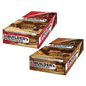 2x Builder's Protein Bars (12x68g - Choice Of Flavour - BBE: December 2015)