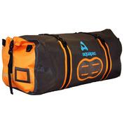 90L Upano Duffel Bag (Grey/Orange)