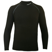 Mens Active Generation Long Sleeve Compression Top (Black)