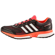Mens Response Boost Shoes (Solar Red/White/Black)
