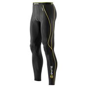 Mens A200 Compression Tights (Black/Yellow)