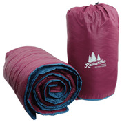 Base Camp Blanket (Maroon/Blue)