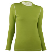 Womens Long Sleeve Top (Lime)