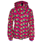 Girls Aino Ski Jacket (All Over Print)