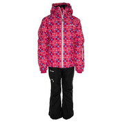 Girls Hilma Ski Set (Pink)