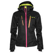 Womens Caize Snowboard Jacket (Black)