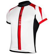 Mens Sprinter GT Short Sleeve Jersey (White/Red/Black)