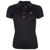 Womens Bibiana Polo (Black)