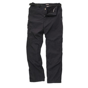 Mens Winter Lined Trousers (Black)