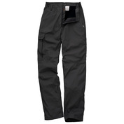 Mens Basecamp Winter Lined Trousers (Black)