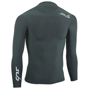 Mens Cold Long Sleeve Compression Top (Black)
