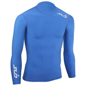 Mens Cold Long Sleeve Compression Top (Navy)